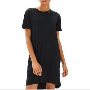 TopShop Split Neck T-Shirt Dress